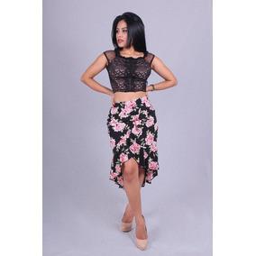 Saia Badodo Midi Valentina V-12346 - Asya Fashion