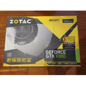 Placa De Video Zotac Geforce Gtx 1080 Amp! Edition Usado