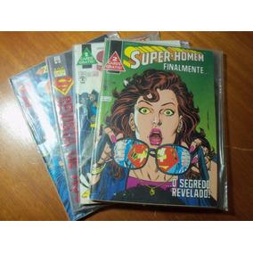 Super-homem 1ª Série 108, 109, 126 E 146 (editora Abril)