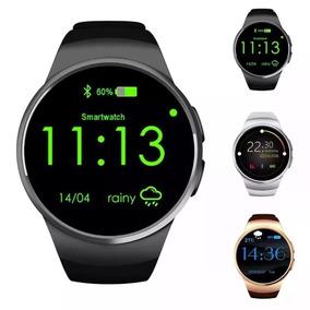 Relógio Smart Watch Monitor Cardiaco Relógio Android
