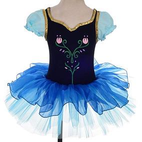 Frozen Princesa Tutu Anna Vestido Hallowen Disfraz 791a23aa248