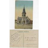 Rs Anos 1910 Cartão Postal Igreja Do Salvador Em Rio Grande