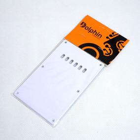 Escudo Traseiro Branco Para Guitarra Strato - Dolphin