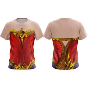 Camiseta Mulher Maravilha Fantasia Filme Dc Super Man #202