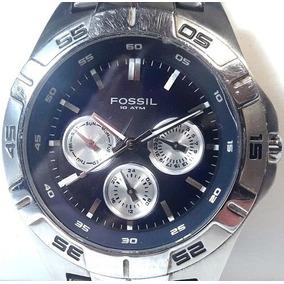 027 Rlg- Relógio- De Pulso Fossil- Funciona Original