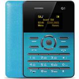 Aiek Q1 Card Phone Azul