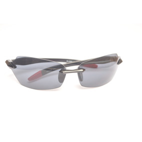2 Óculos Sport Detalhes Vermelhos Unissex Extenso D51 47dab258f6