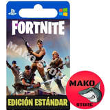 Fortnite Salvar Al Mundo: Pack Estándar - Pc / Ps4 / Xbox