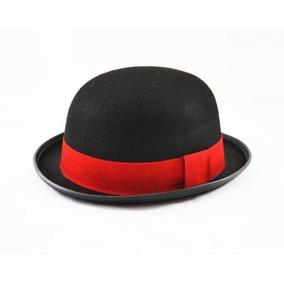Chapéu Coco Vermelho Chaplin Laranja Mecânica - Chapéus no Mercado ... a518dcb4be7