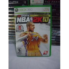 Nba 2k10 Xbox 360 Midia Fisica Original