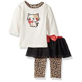 2b67b49f9f513 Camiseta Y Conjunto De Legging De Tutu Para Niña De Bebé Ger
