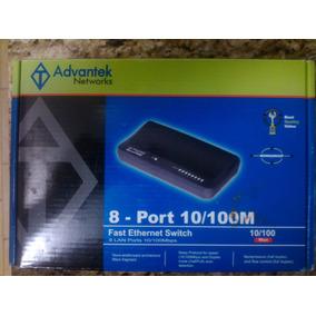Switch 8 Puertos Advantek Networks 10/100mbps