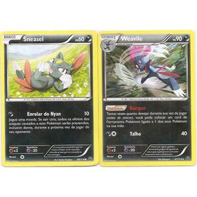 Carta Pokemon - Sneasel/weavile - Cerco De Vapor