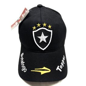 242190a7c3 Bone Aba Curva Botafogo Futebol Top Masculino Pronta Entrega