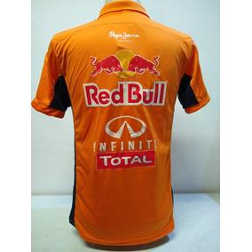 7ef71701418eb Camisa Polo Red Bull Racing F1 Kit 4 Pçs