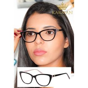 9a7b80e4dc8db Oculo Grau Gatinho Rosa Fendi - Óculos no Mercado Livre Brasil