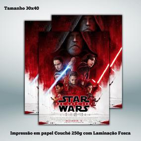 Poster Star Wars Episode Viii - The Last Jedi - 30x40 Cm