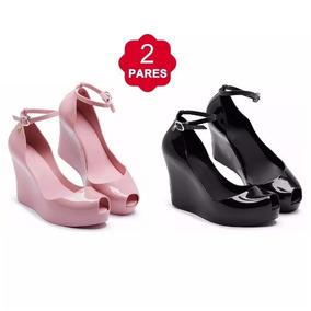 b5407941f5 Sapatos Femininos Salto Alto - Sandálias e Chinelos Rosa claro no ...