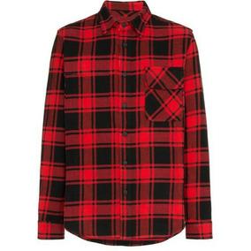 Camisa Xadrez Masculina Vermelha - Camisa Manga Longa Masculino no ... f6131f715d8