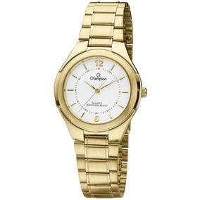 b301635216d Relógio Champion Feminino Dourado Ch22037h Original - Relógios De ...