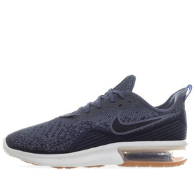 Tenis Nike Air Max Sequent 4 - Ao4485400 - Azul Acero - Homb