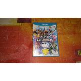 Caja De Super Smash Bros Wiiu