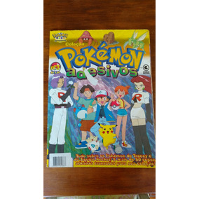 Revista Pokemon Adesivos N° 3 Original