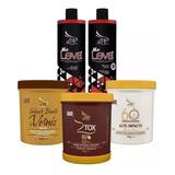 Escova Zap Progressiva 100% Original+ Btox 950g+ Verniz+ 60s