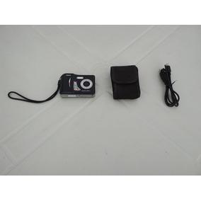 Camera Tron Digitron S5e Usada Com Cabo, Case E Pilhas