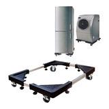 Base Rack Con Ruedas Para Lavadora Refrigeradora Cocina