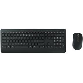 Kit Teclado + Mouse Usb Microsoft Wireless Desktop 900 Preto