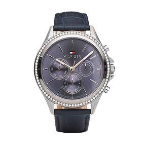 Relógio Tommy Hilfiger Feminino Couro Azul - 1781979