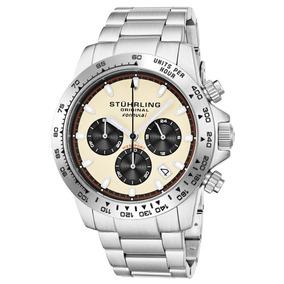 Reloj Stuhrling Quarzo 42mm Acero Cronografo Formula1 891.05