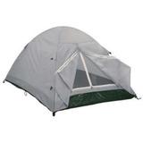 Barraca Camping Hummer Terra 2 Cinza Duas Pessoas Duas Lonas