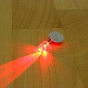 Led 10mm Alto Brilho Vermelho Pct Com 50 Peças