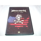 Megadeth In Usa 2008 Dvd