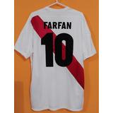 Camiseta De Peru Mundial Rusia 2018 # 10 Farfan