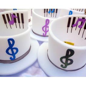 Gorros Cotillon Motivo Nota Musicales Disfraces Y - Disfraces y ... 1bfb0b86b72