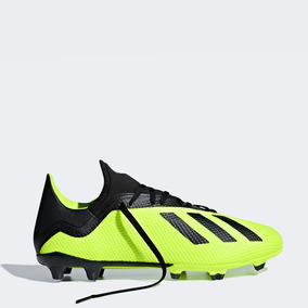 separation shoes f80a5 2b868 Taco adidas Performance X 18.3 Fg Verde Limon Caballero 2018