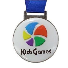 10 Medalhas Esportivas Metal Com Resina