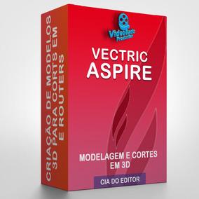 Vectric Aspire 9.5 Atualizado Em Português + 3 Gb Cliparts