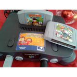 Nintendo 64 + Juegos Originales + Control Adicional Genérico