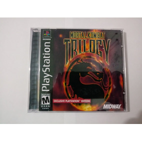 Mortal Kombat Trilogy - Patch Ps1,ps2 E Ps3 - Midia Preta