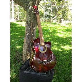 Guitarra Electro Acustica Palmer Conchita Dx Pack1 Wr