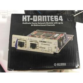 Placa Kt64 - Kt-dante 64 Klark Teknik - Midas - Audinate