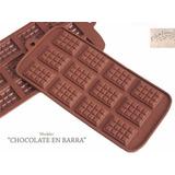 Molde Silicon Barra De Chocolate - Reposteria