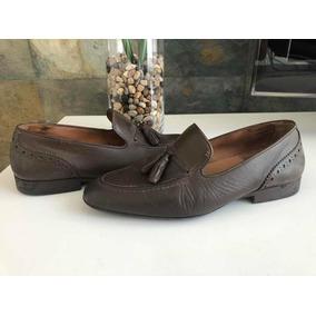 Zapatos Mocasines Marca Zara Color Café Para Hombre a4ae6228c3c