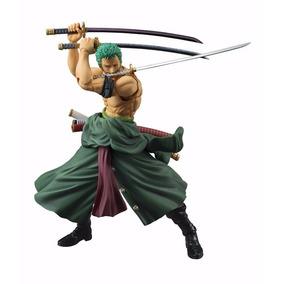 Action Figure - Zoro One Piece 23cm Articulado - Importado