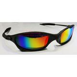Oculos Juliet Xmetal Cinza Fosco Lente Arco Iris U.s.a a66a6a62ad
