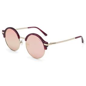 564d359fe66fc Óculos Sol Colcci Rosa Demi Lente Rosê Dourado Espelhado Nf